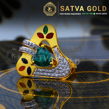 916 gold ring sgr-0047