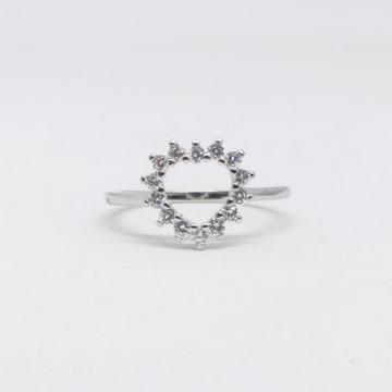 925 Sterling silver heart shape ladies party wear... by Zaverat
