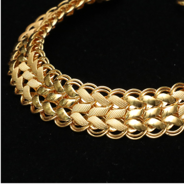 22KT Gold Fancy Gents Bracelet ML-B004