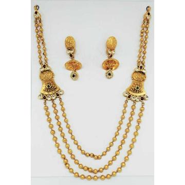 22 kt gold antique set by