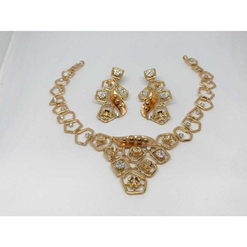 18k Ladies Fancy Rose Set S-57532