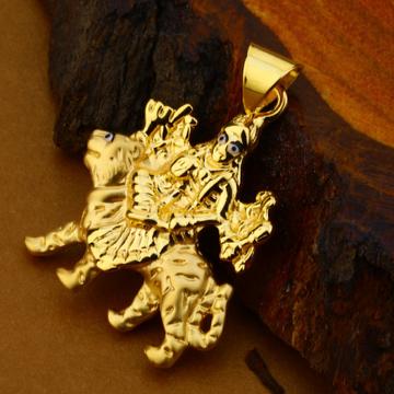 18kt Gold Designer Mens Pendant HLP114
