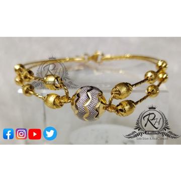 22 carat gold fancy ladies kada RH-KD250
