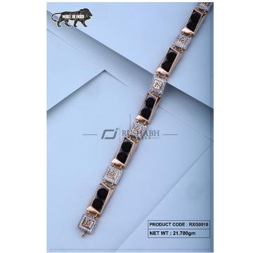 18 carat Rose gold rudraksh gents bracelet om rxg0... by