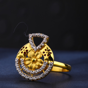 22CT Gold Hallmark Classic  Women's Ring LR693