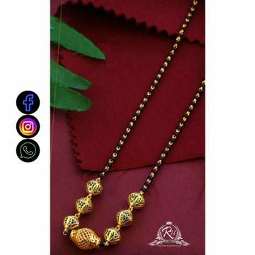 22 Carat Gold Classical Ladies Mangalsutra RH-LM711