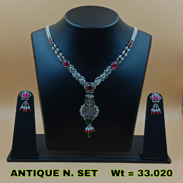 92.5 Antique necklace set sl n026
