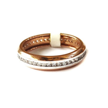 18k rose gold fancy ring mga - rgr0039