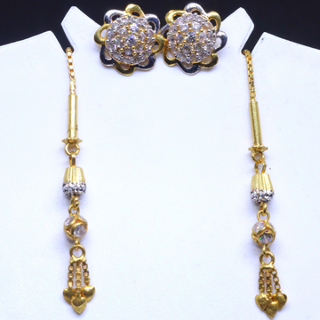 20CT Gold Fancy Soydora Earrings for Ladies BTG0112