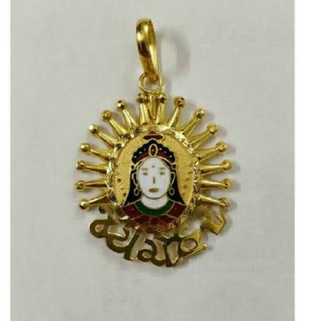 22K / 916 Gold Gents Traditional Designer Pendant