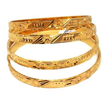 One gram gold forming bangles mga - gf0024