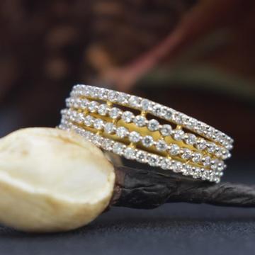 22KT Gold CZ Designer Ring For Women MK-R09 by