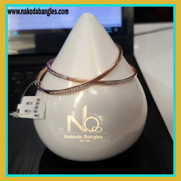76 Gold Rose Gold Bangles NB-145