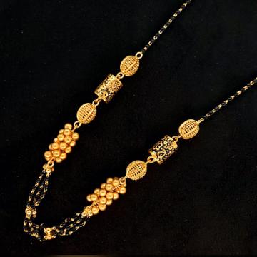 916 gold antique Mangalsutra Dokiya