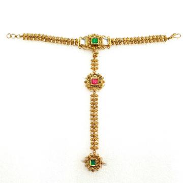 916 Gold Antique Pocho