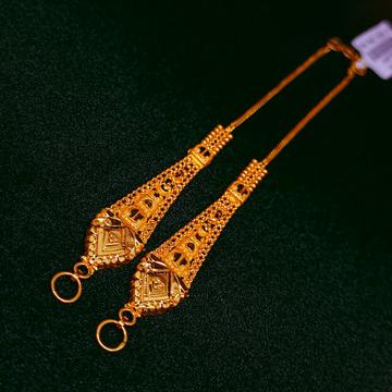 22KT Gold Fancy Kanser by Ghunghru Jewellers