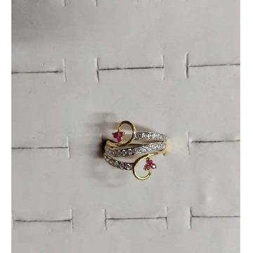 22k/916 Designer Gold Ladies Ring