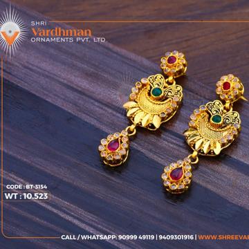 22ktgold earrings by
