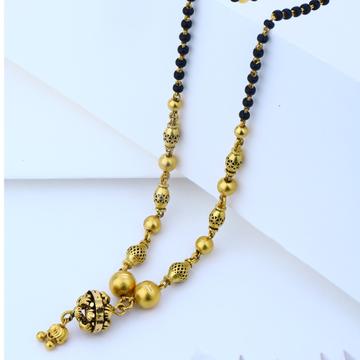 22KT gold Hallmark Simple Design Mangalsutra
