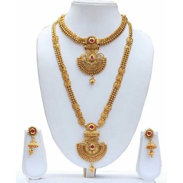 22kt Gold Ethnic Necklace Set