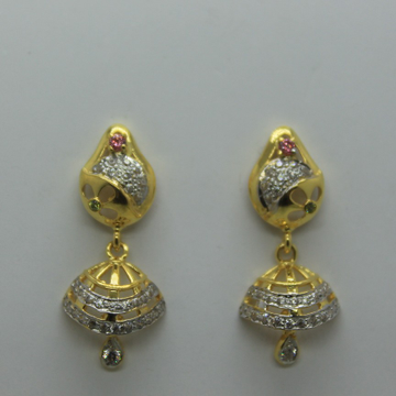 916 fancy cz gold jummar tops