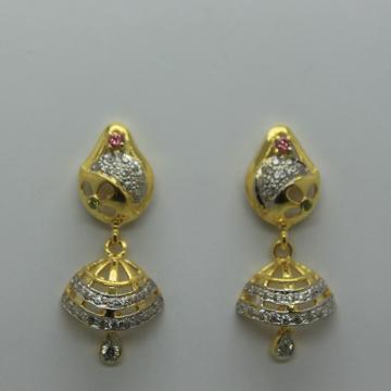 916 fancy cz gold jummar tops by Shree Sumangal Jewellers