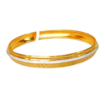 One gram gold forming punjabi kada bracelet mga - bre0003