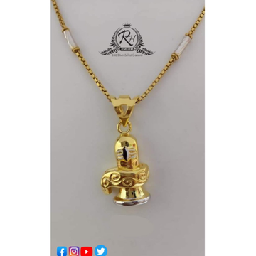 22 carat gold pendants chain RH-PC500