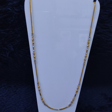 22KT/916   Yellow Gold Dainy Chain GCH-200