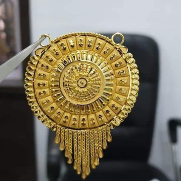 22 carat gold ladies mangalsutra pendal  RH-MS325