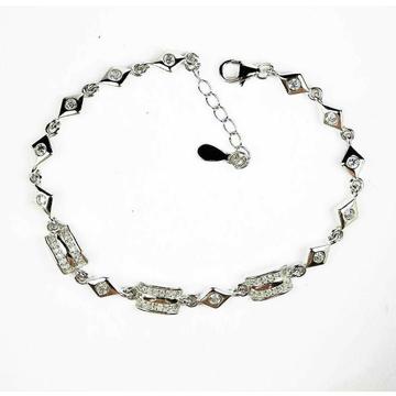 Light Weight 925 Silver Ladies Bracelet