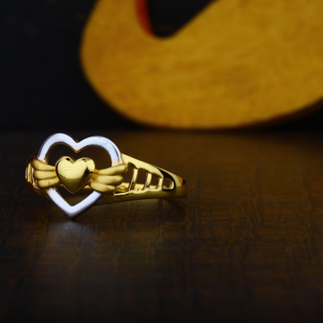 22K Woman Gold Ring PJ LR002