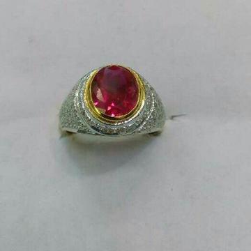 22K/916 Gold Designer Gents Ring