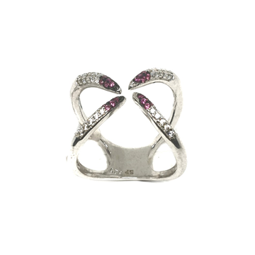 925 Sterling Silver Fancy Ring MGA - LRS0053