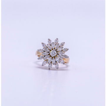 18k gold diamond ladies ring agj-lr-320