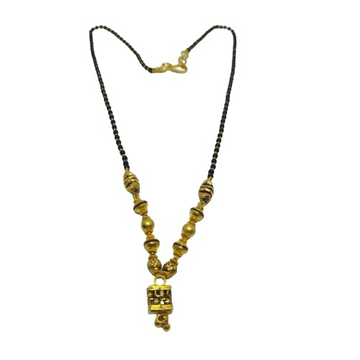 916 singl line antique mangalsutra
