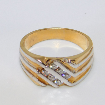 18K gold diamond ring agj-lr-85