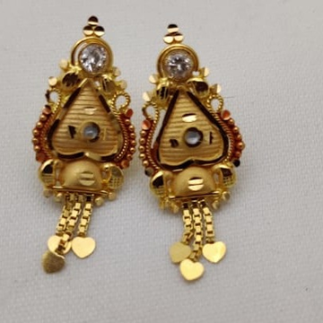 Gold  Attractive  Tops LMJ-999 by Lalit Manohar Jewellers