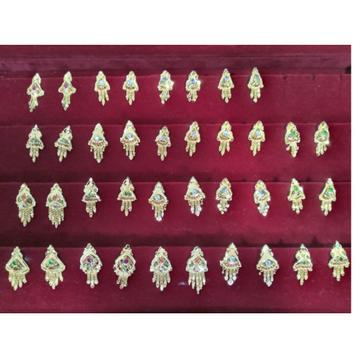 916 Hallmark Gold Daily Wear Earring  by Samanta Alok Nepal
