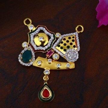 22Kt Gold Rajasthani Marvadi Desgin Mangalsutra Pendal RH-MSP04