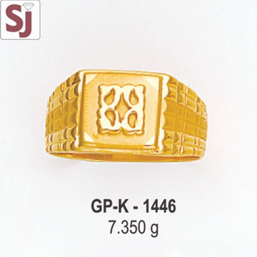 Gents Ring Plain GP-K-1446