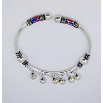 Oxidize enamel flexible ladies kada bracelet MG-B003