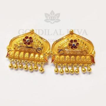 20kt gold earring gft104 by