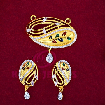 916 Gold Mangalsutra Pendal with Butti MSP-008