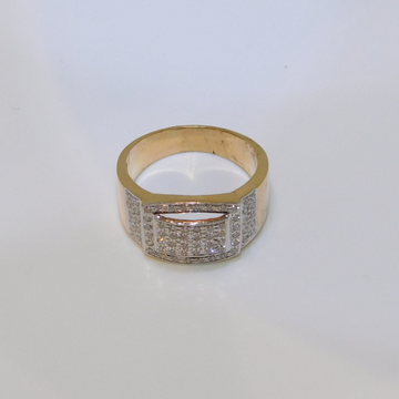 18K gold diamond ring agj-lr-157