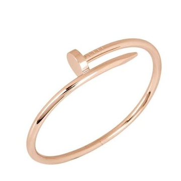 18kt rose gold nail design bracelet for women jkb017