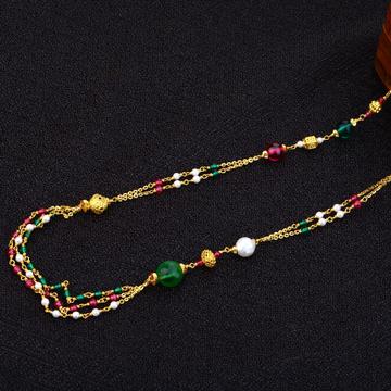 22kt Gold Classic Antique Chain Mala AC154