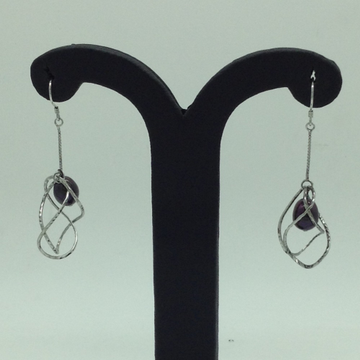 PearlSilverEar HangingsJER0130