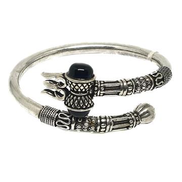 925 Sterling Silver Bahubali Bracelet MGA - BRS0290
