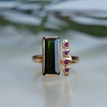 916 stone with diamond ring